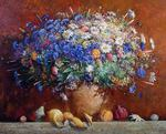 Shevelev Alexander - 'Cornflowers and Camomiles'