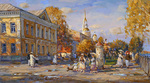 Shevelev Alexander - 'Fall on the Embankment. Rybinsk'