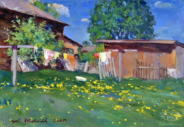 Shevelev Alexander - 'On the Backyard'