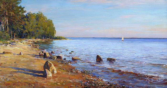 Shevelev Alexander - 'On the Rybinsk Reservoir'
