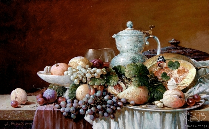 Shevelev Alexander - 'Still Life with Jug'