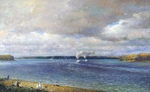 Shevelev Alexander - 'The Volga River in Rybinsk'