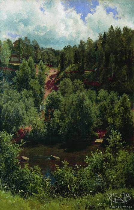 Shishkin Ivan - 'After the Rain'