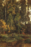 Shishkin Ivan  - 'Approaching Fall'