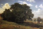 Shishkin Ivan - 'At the Church Fencing. Valaam'