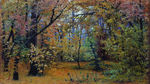 Shishkin Ivan  - 'Autumn Forest'
