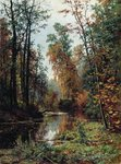 Shishkin Ivan - 'Autumn Landscape. The Park in Pavlovsk'