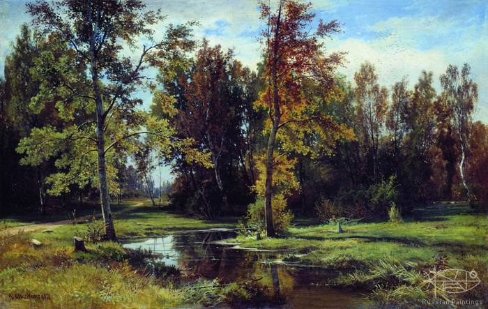 Shishkin Ivan - 'Birch Forest'