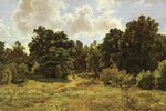 Shishkin Ivan - 'Edge of the Deciduous Wood'