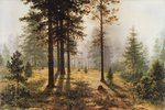Shishkin Ivan  - 'Fog in the Forest'