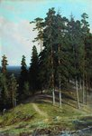 Shishkin Ivan - 'Forest from the Mountain'