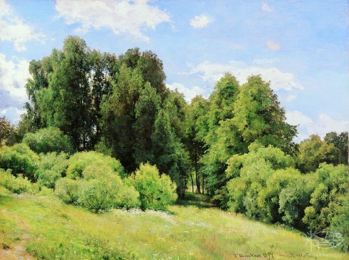 Shishkin Ivan - 'Forest Glade (Clearing)'