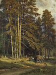 Shishkin Ivan - 'Forest Road'