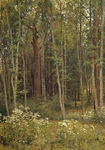 Shishkin Ivan  - 'Forest Thicket'