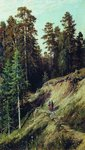 Shishkin Ivan  - 'In the Woods. From the Forest with Mushrooms'