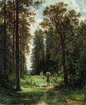 Shishkin Ivan - 'Path in the Wood'