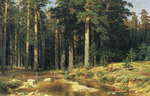 Shishkin Ivan - 'Ship Timber'