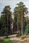 Shishkin Ivan - 'Sun in the Wood'