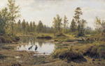 Shishkin Ivan  - 'Swamp. Woodlands'