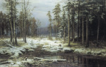 Shishkin Ivan - 'The First Snow'