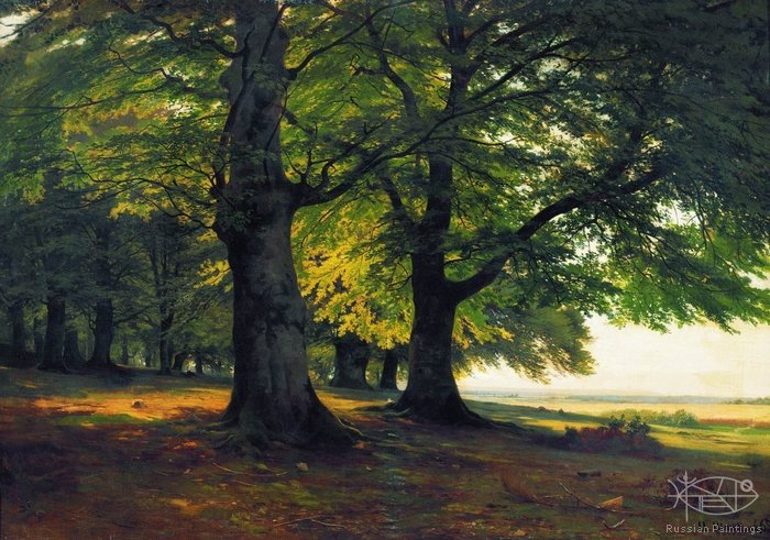 Shishkin Ivan - 'The Teutoburg Forest'