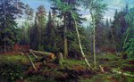Shishkin Ivan - 'Timber Cutting'
