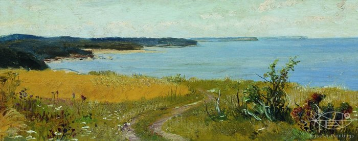 Shishkin Ivan - 'View to the Seaside'