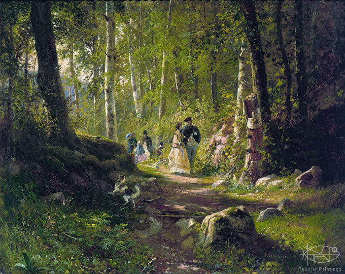 Shishkin Ivan - 'Walk in the Wood'
