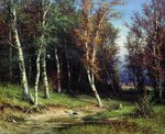 Shishkin Ivan - 'Wood before a Thunderstorm'