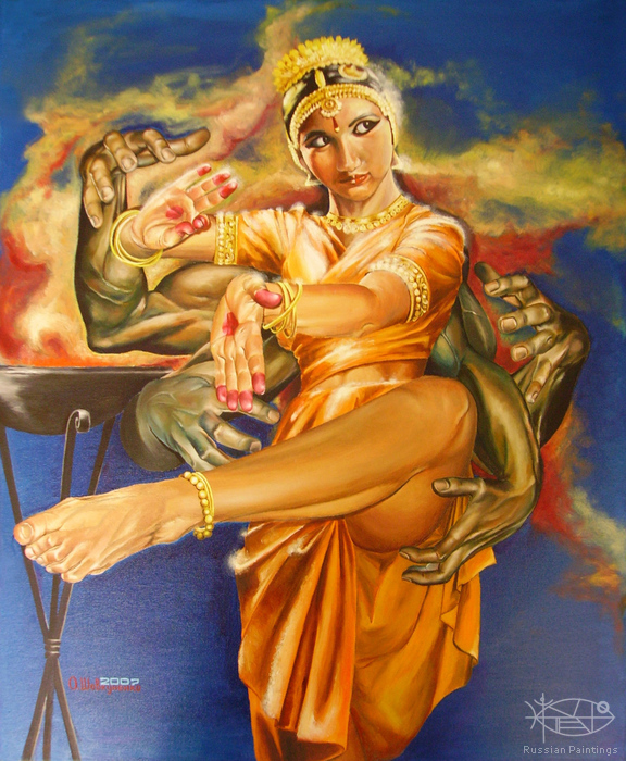Shovkunyenko Oleg - 'India. The Birth of the Multihanded Goddess'