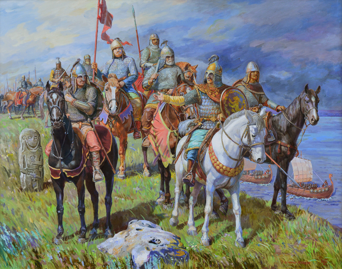 Shtyrov Evgeniy - 'I Am Going to You. Svyatoslav's Hike to the Khazar Khanate'