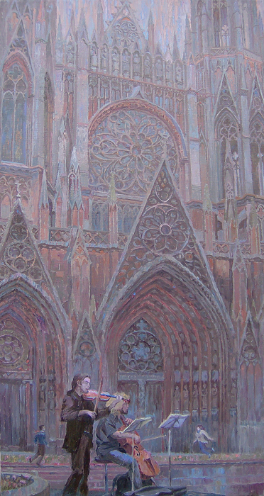Shtyrov Evgeniy - 'Music of the Rouen Cathedral'