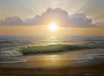 Stefanov Alexander - 'Evening Surf'