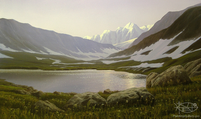 Stefanov Alexander - 'Morning in Mountains'