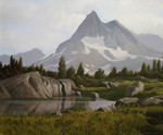 Stefanov Alexander - 'Mountain Lake'