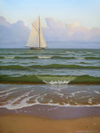 Stefanov Alexander  - 'Sailing on Sunset'