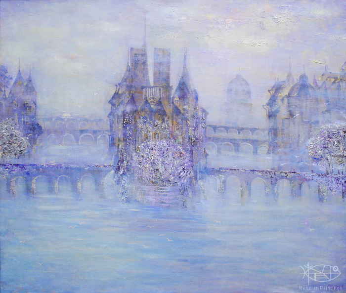 Teneta Victoria - 'Golden Paris in the Lilac Reveries'