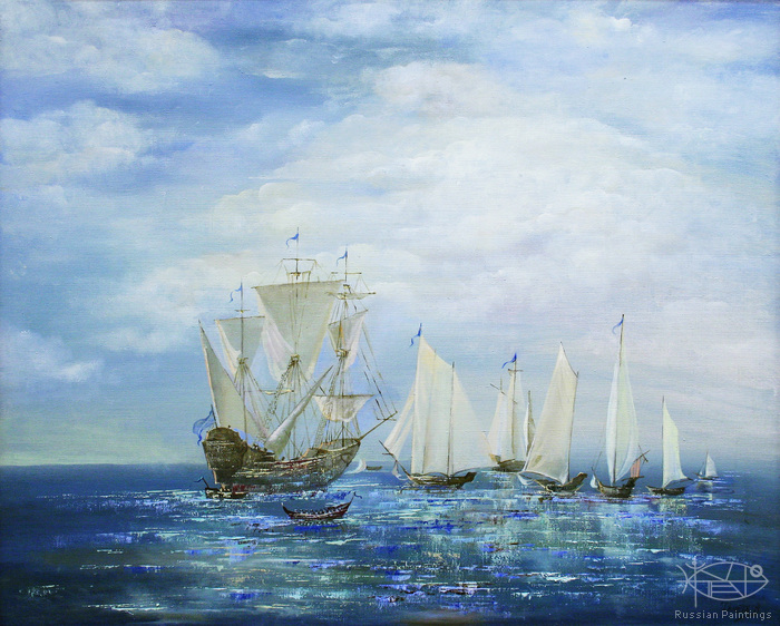 Teneta Victoria - 'Morning Breeze in The English Channel'
