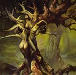 Vallejo Boris  - 'The Dryads'