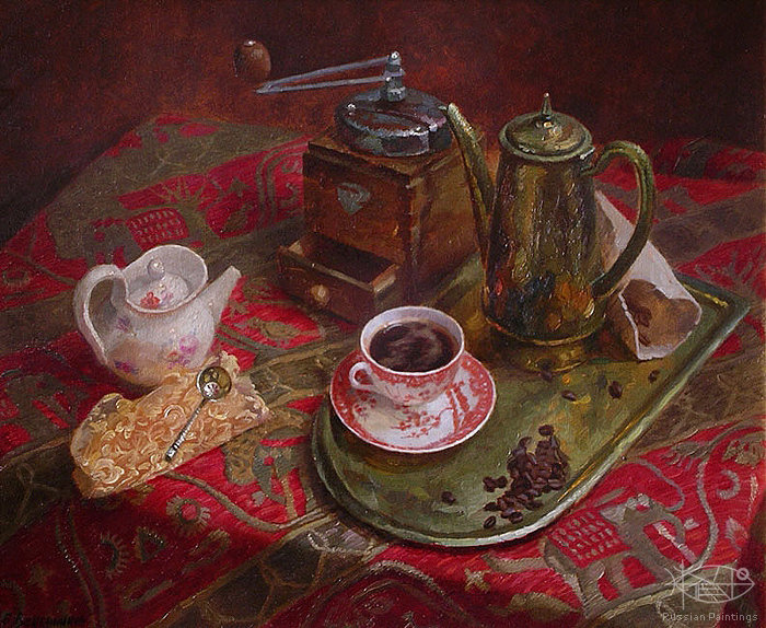 Wedernikow Boris - 'Cup of Coffee'