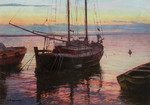 Wedernikow Boris  - 'Evening. Trieste'