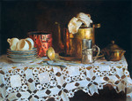 Wedernikow Boris  - 'Still Life with Big Kettle'