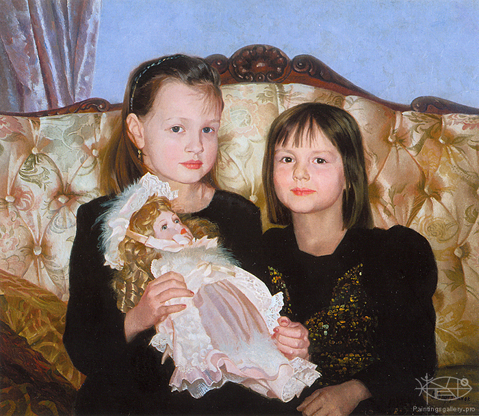 Wedernikow Boris - 'The Stepanov's Children'