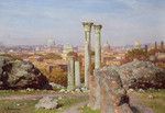 Wedernikow Boris  - 'View from the Palatin Hill in Rome'