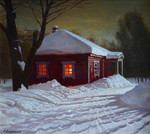 Wedernikow Boris  - 'Winter Night'