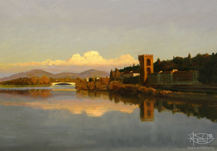 Yurko Victoria - 'On the Arno River'