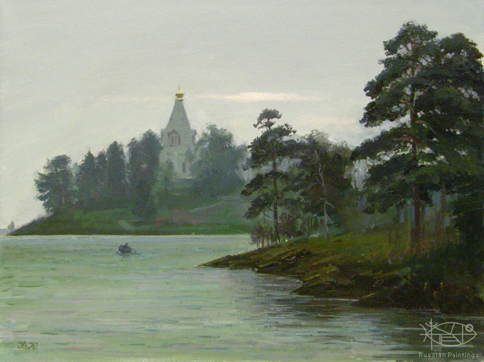 Yurko Victoria - 'St. Nikolay's Church in Valaam'