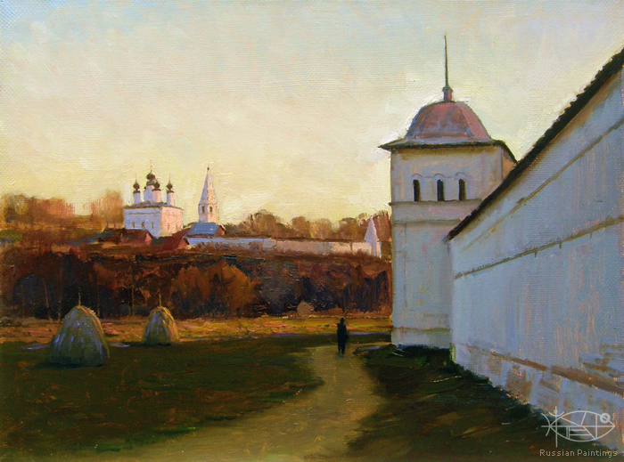 Yurko Victoria - 'View of the Aleksandrovskiy Monastery from Walls of the Pokrovskiy Monastery'