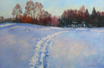 Zhukov Sergey - 'Winter. Evening'